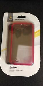 Sprint-for-Clear-Hybrigel-case-for-Samsung-Galaxy-Note-II-Clear-Pink