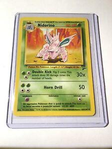 Pokemon Base Set 2 Uncommon Card #38//130 Dratini