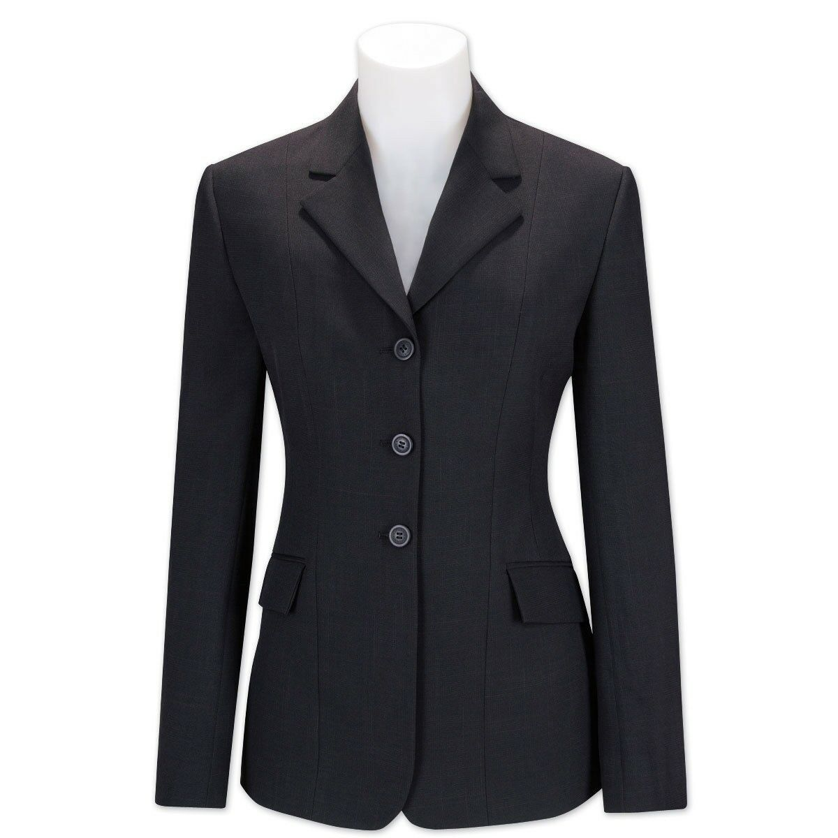 R.J. Classics  Ladies Essential Collection Show Coat - Navy Plaid (2Re)  customers first