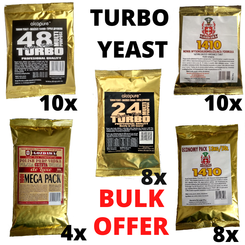 Alcotec 200 TT Turbo Yeast Commercial Use High Alcohol fermentaion