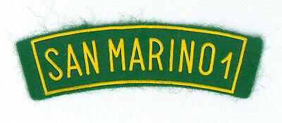 SCOUTS OF SAN MARINO Scout Membership Rank Award /& National Strip Patch SET