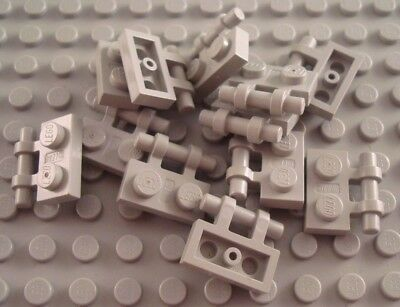 LEGO Lot of 12 Blue 1x2 Specialty Plates with Handles Parts and Pieces