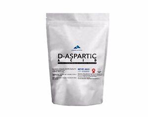 DAA-D-ASPARTIC-ACID-POWDER-100-PURE-PHARMACEUTICAL-QUALITY-REGENERATION-LIBIDO