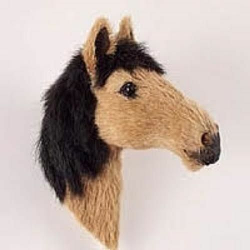 Start collecting Horses,Dogs Birds /& Animals! CUTE WHITE HORSE FUR MAGNET