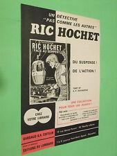 PUBLICITE - DARGAUD - LOMBARD - RIC HOCHET - FACE AUX SERPENTS - TIBET ( B6 )