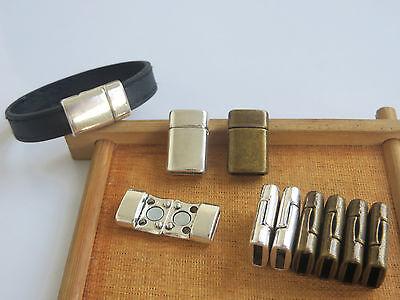 10pcs Celt Knot Trique Slider Spacer for 5mm 10mm Flat Leather Cord