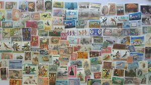 300 Different British West Indies Stamp Collection