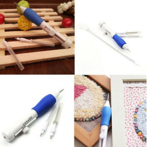6x-ABS-Plastic-Crafts-Magic-Embroidery-Pen-Set-of-1-3mm-1-6mm-2-2mm-Punch-Needle