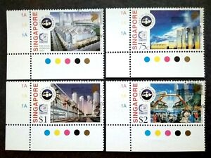 Singapore-1995-Meet-In-Singapore-1995-Complete-Set-With-Margin-4v-Used