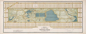 16-034-x41-034-LARGE-1875-Central-Park-Guide-Map-Antique-Art-Poster-Print-Wall-Decor