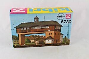 Kibri-6730-Bausatz-Brueckenstellwerk-Neustadt-Maerklin-Spur-Z-Neu-amp-OVP