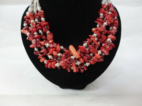 Handcrafted Moroccan Berber Artisan Gemstones Necklace