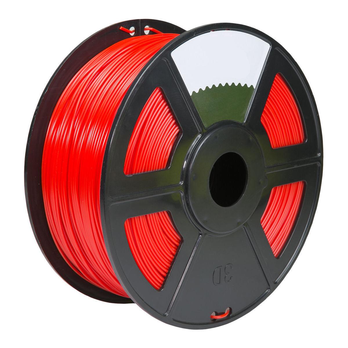 4PK red Color 3D Printer Filament 1.75mm 1KG ABS For Print MakerBot RepRap