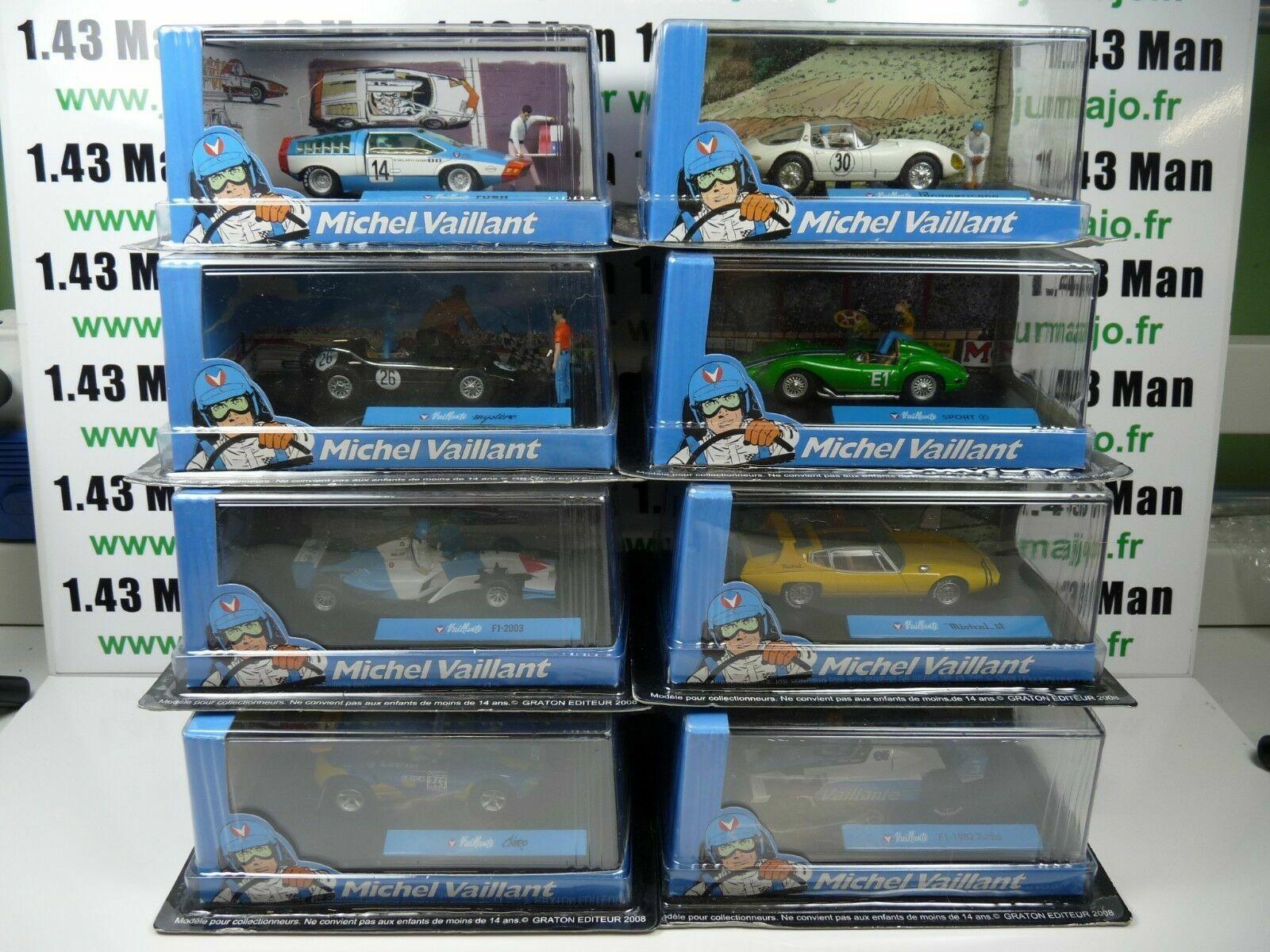 Bundle 8 Cars Altaya Ixo 1 43 Diorama Bd Michel Brave Pair