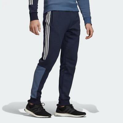 Adidas Hommes Pantalon Athlétique Bas Sport Id Entraînement Conique Pieds EB7593 | eBay