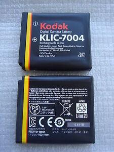 Batteria-Originale-Kodak-KLIC-7004-Fuji-NP-50-NP50-Fujifilm-Finepix-F100fd-F70EX