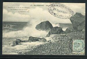 """Obitération """" Sainte Adresse Kermesse """" Sur Carte Postale En 1905 - Réf M6"""