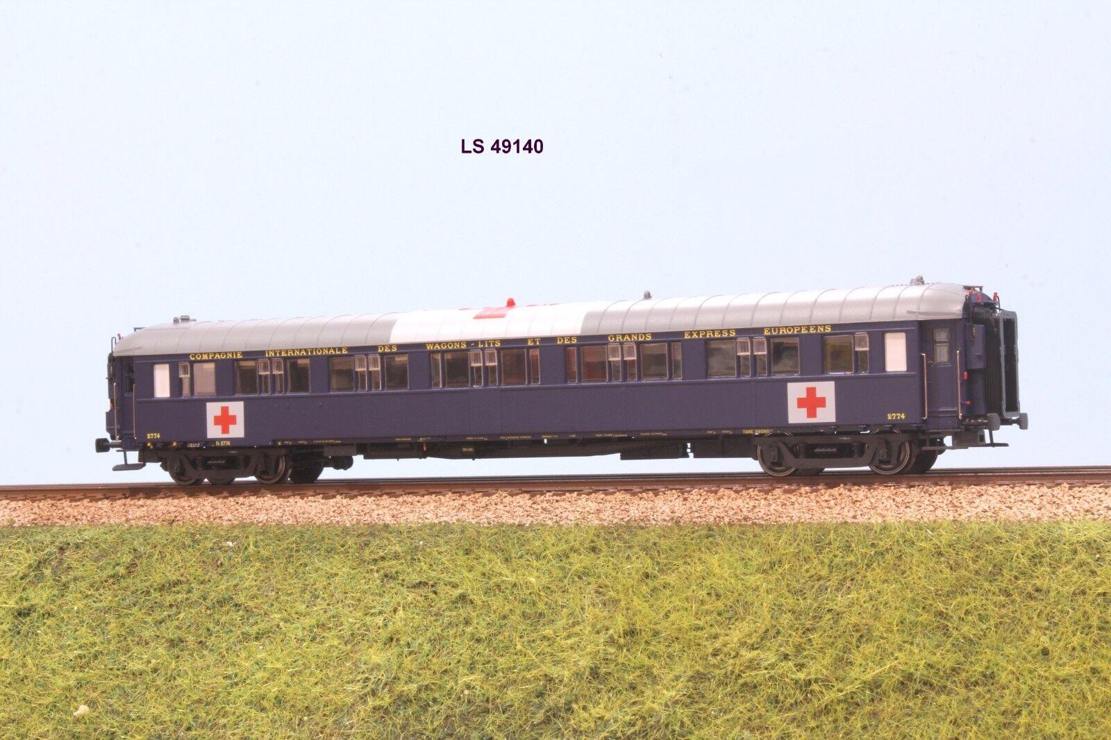 LS Model 49140 CIWL Cocherozza letti tipo S2 ep. II con insegne croce rossa