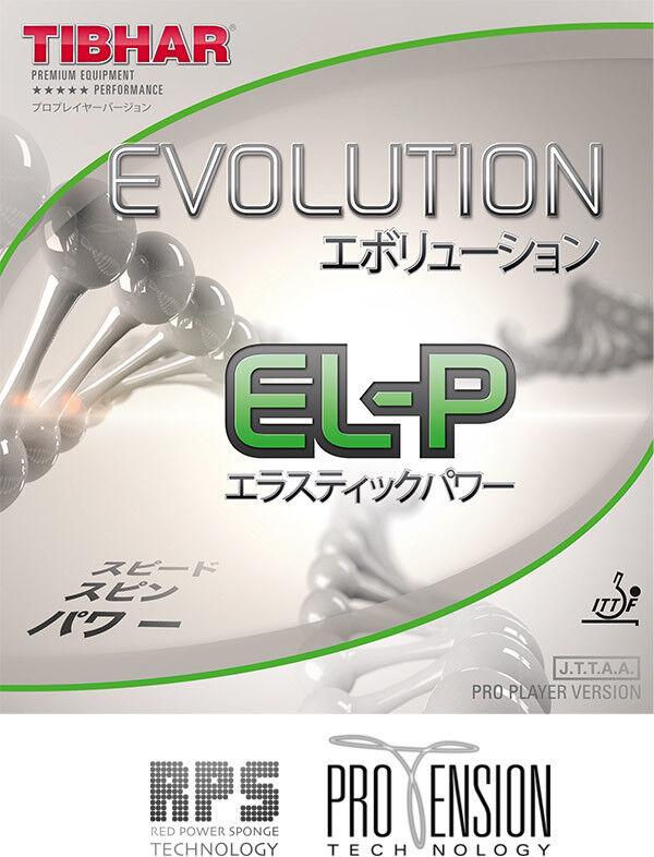 Tibhar Tischtennisbelag Evolution EL-P 1,7mm rot  NEU     OVP  | Spezielle Funktion  | Moderner Modus  | Billig  487d6c