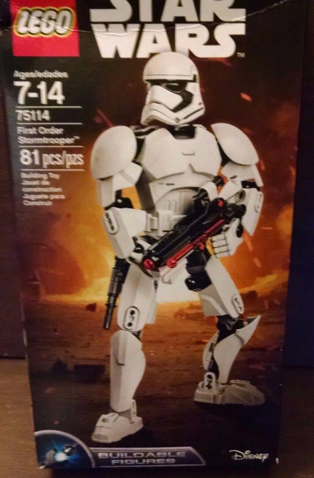 LEGO Star Wars 81 pcs. First Order Stormtrooper 75114  New 2016