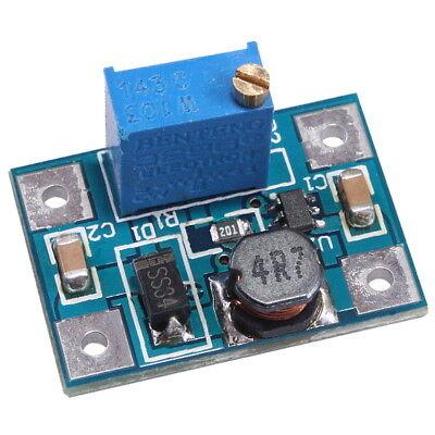SX1308 Step-Up Spannungsregler 2A 2-28V einstellbar Modul für Arduino Konverter