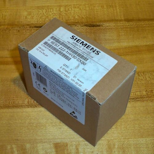 6ES7 222-1HH30-0XB0 Siemens SIMATIC S7-1200 Relay Output Module SM 1222 RLY