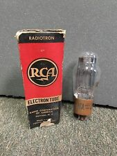 RCA 5R4GY MILITARY BROWN BASE VACUUM TUBE 1965 DATED