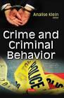 Crime & Criminal Behavior by Nova Science Publishers Inc (Paperback, 2017)