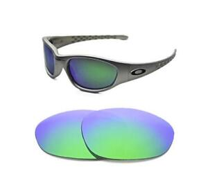 a96c7eb55 Image is loading NEW-POLARIZED-GREEN-REPLACEMENT-LENS-FOR-OAKLEY-VINTAGE-