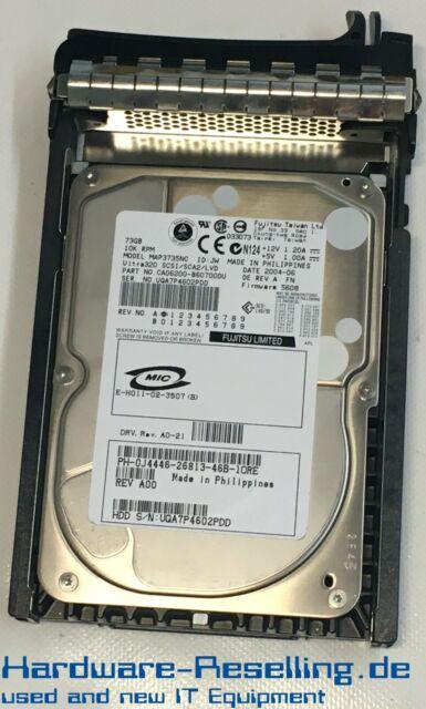 "Dell Fujitsu 73GB 10k 3.5"" SCSI MAP3735NC CA06200-B60700DU"