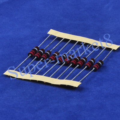 10pcs 22 Ohm 1/2W Carbon Comp Composition Resistor ALLEN Style