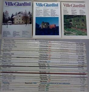 Ville-Giardini-numeri-dal-1984-al-1991