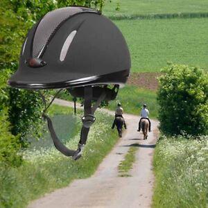 KERBL-Carbonic-Reithelm-verstellbar-Reitkappe-Sicherheitsreithelm-Reiterhelm-TOP