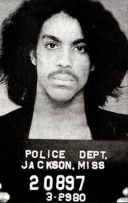 NEW PRINCE MUG SHOT GLOSSY POSTER PICTURE PHOTO mugshot jailed famous artist 71