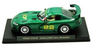 E6-Modelo-Fly-Dodge-Viper-GTS-R-22-les-coches-Bruselas-Ltd-Ed-MIB-1-32-ranura-de-coche