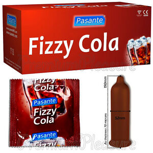 Fizzy cola condoms
