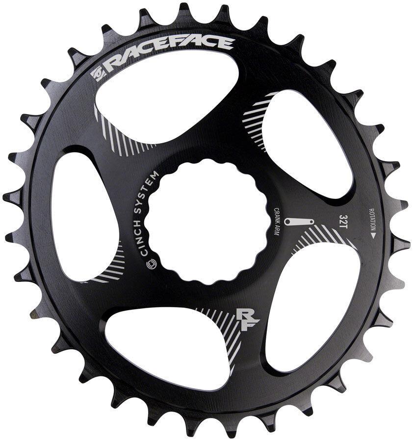 Race Face Narrow Wide 1x MTB Direct Mount Cinch Cinch Cinch Oval Chainring 30t negro 42a5ec