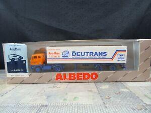 Albedo-Volvo-35-Jahre-VEB-Deutrans-Halle-DDR-Sondermodell-OVP-H0-BT69