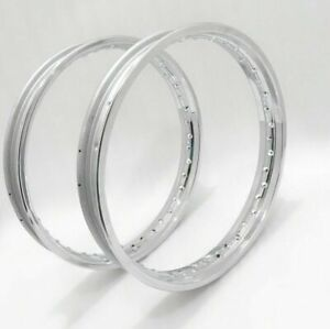 """ROYAL ENFIELD CLASSIC C5 18"""" FRONT AND REAR WHEEL RIM SET"""