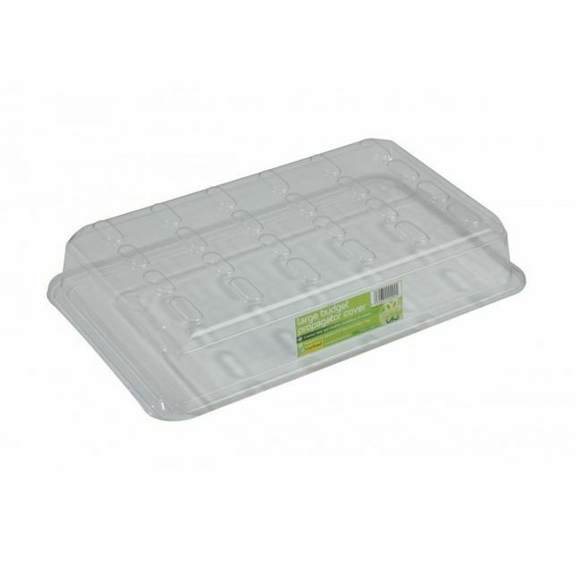 Seed Tray Propagator Lid Durable Plant Growth Clear