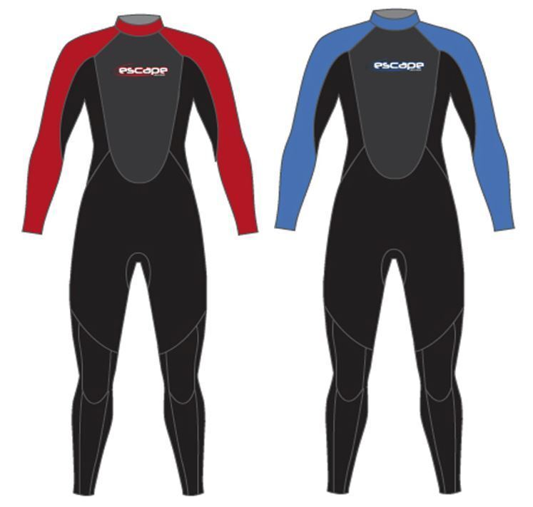MENS ESCAPE 3 2 MM NEOPRENE FULL WETSUIT Canoe Kayak Swmi Surf Jetski Sail SUP