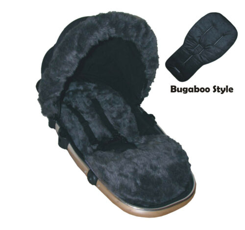 Liner Only Fur Seat Liners for Bugaboo Pushchairs