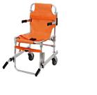 GIMA 34060 Barella a Sedia Portantina con 2 Ruote - Arancione