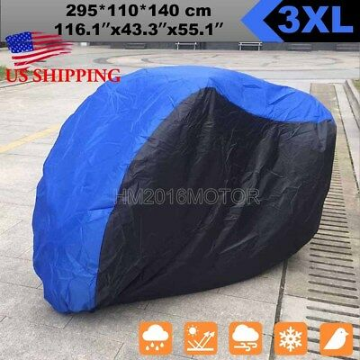 3XL Waterproof Motorcycle Cover Protector For BMW K R 650 1100 1300 1600 Victory