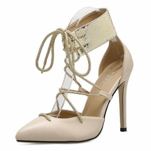 Sandalei eleganti tacco tacco tacco stiletto 11 cm simil Argent beige simil cm ... 849f4e