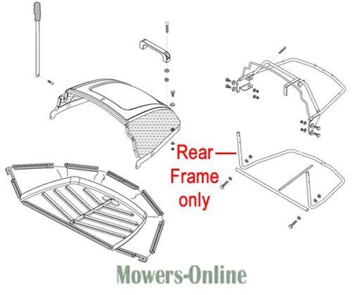 AL-KO Tractor Grassbox Rear Frame 514182 T850 T1000 T14-85 T13-102 T13-82