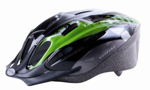 Ventura MAMBA Fahrradhelm grün//schwarz Größe L 58-61cm NEU 731037