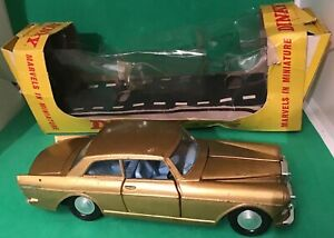 Rare Dinky Toys Miniature # 127 Rolls Royce Silver Cloud Mk Iii