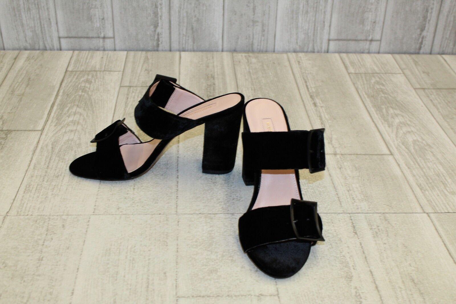 Avec Les Filles Millie Heeled Sandal - Women's Size 9M - Black