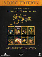 The Jess Franco Gold Collection - 8 Discs - 8 Uncut Franco Movies -